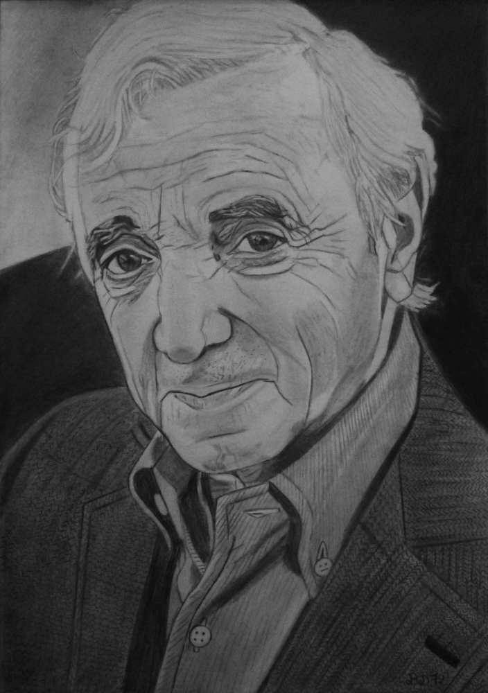 Charles Aznavour by beasalsa